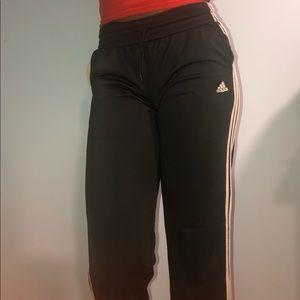 Adidas Training Wide Leg Sweatpants in Black🌸